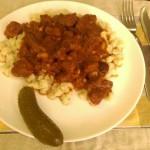 Carne con chilli